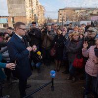 Врио губернатора региона Алексей Текслер встретился с жителями  Магнитогорска
