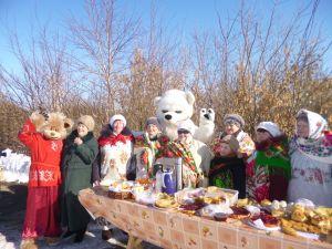 В Нижнеусцелемово прошли «Проводы русской зимы»