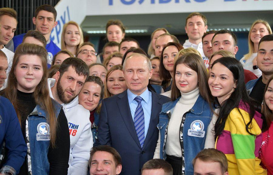 ВКазани открылся предвыборный штаб В. Путина